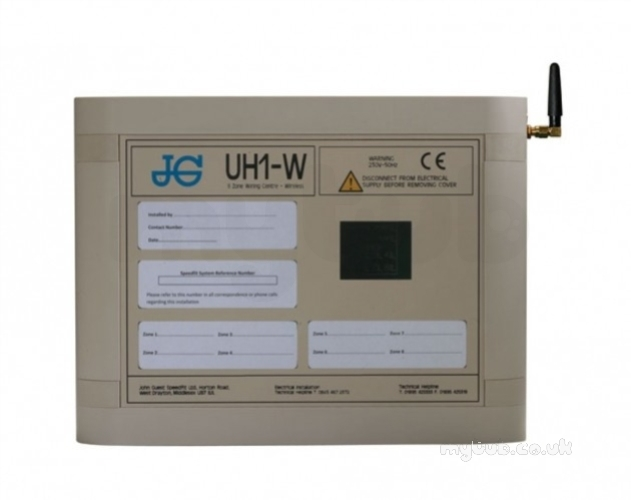 John Guest Jgwwc White 8 Zone Wireless Wiring Centre