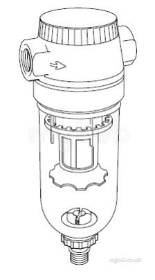 Spirax Monnier If2d Filter Pc Bowl 1/2 : Spirax