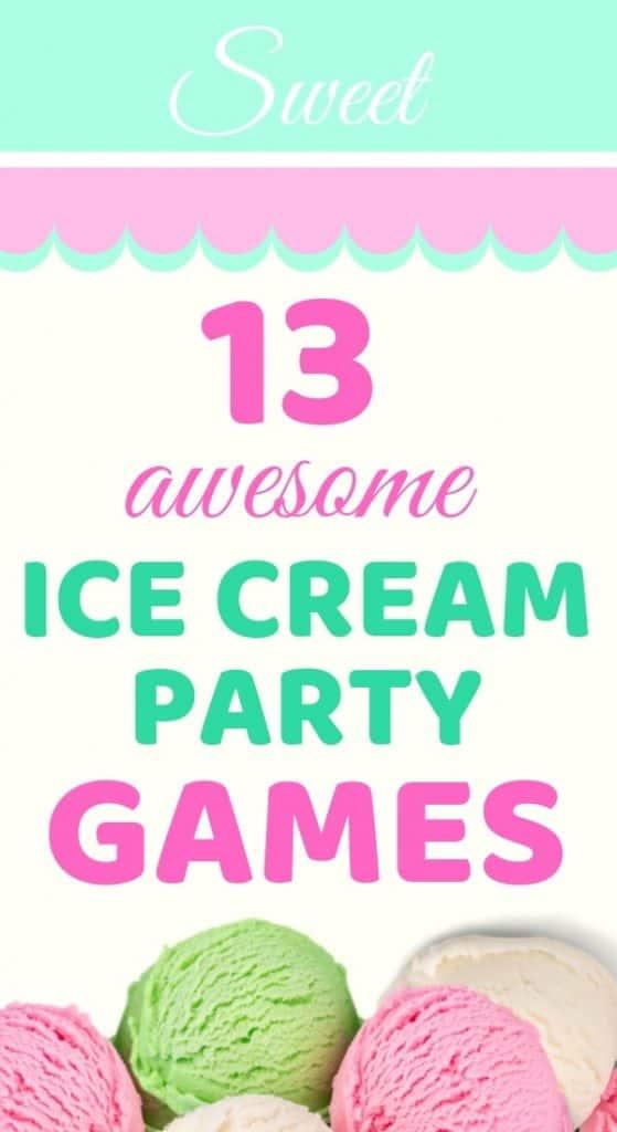 cool ice cream party