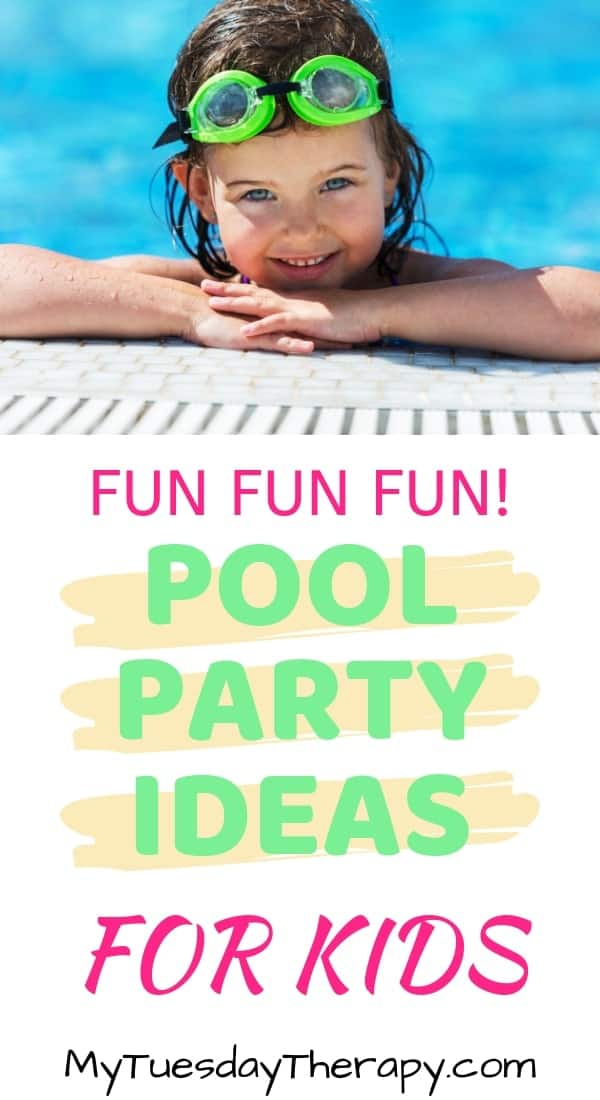 splashing fun pool party