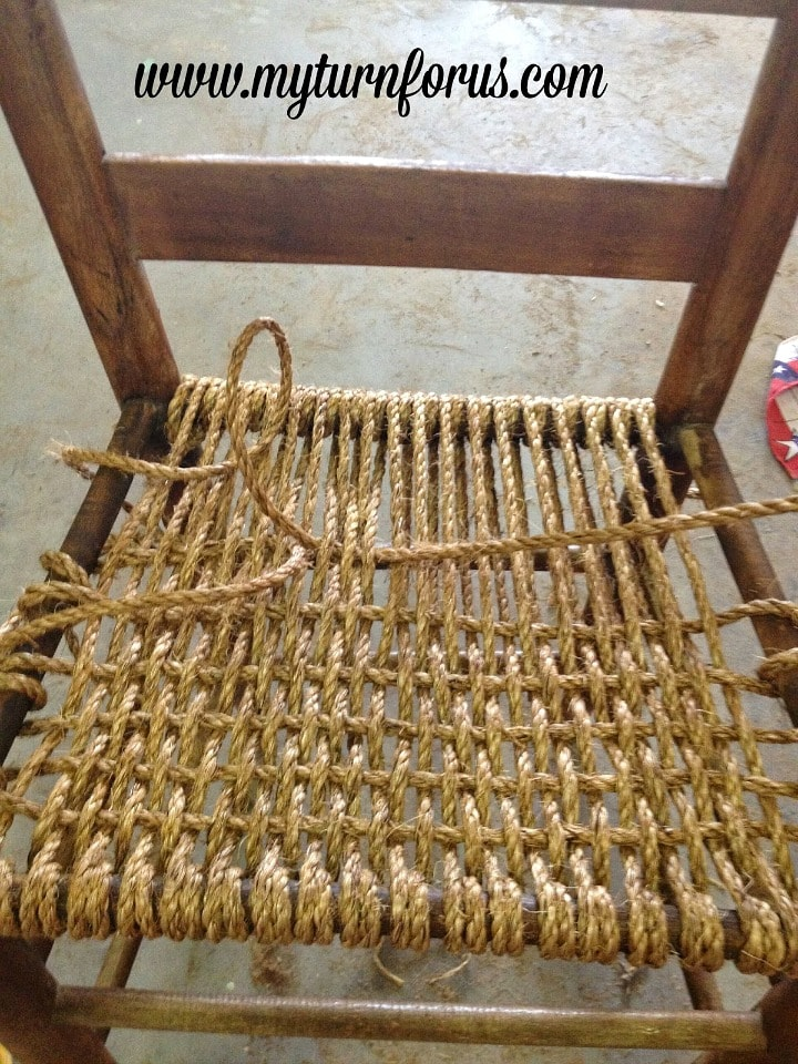 How to Weave and Restore a Hemp Seat on a Chair  My Turn