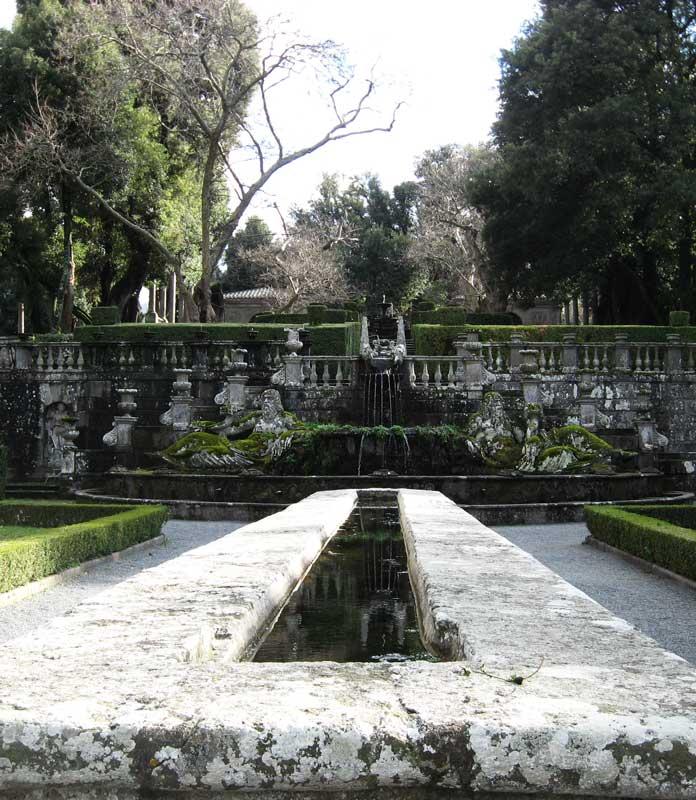 Mensa del Cardinale Villa Lante