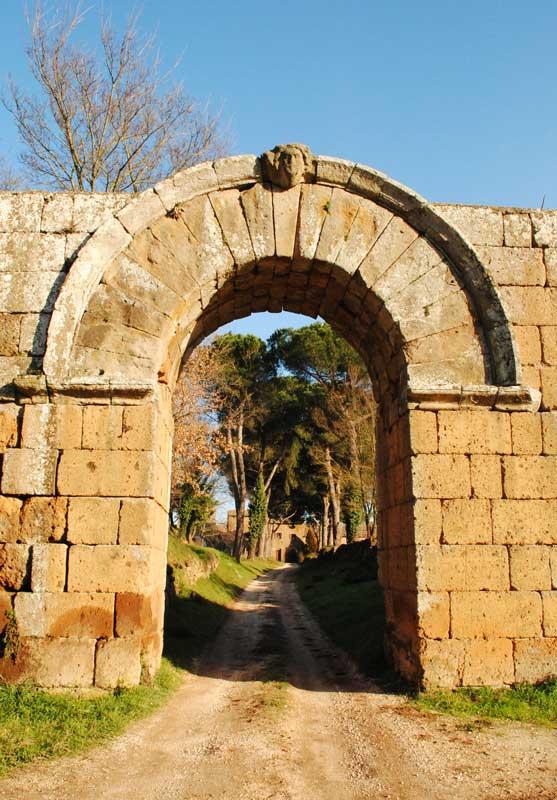 Arco di Giove - Falerii Novi