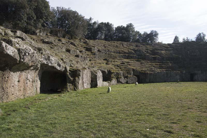L'anfiteatro romano di Sutri