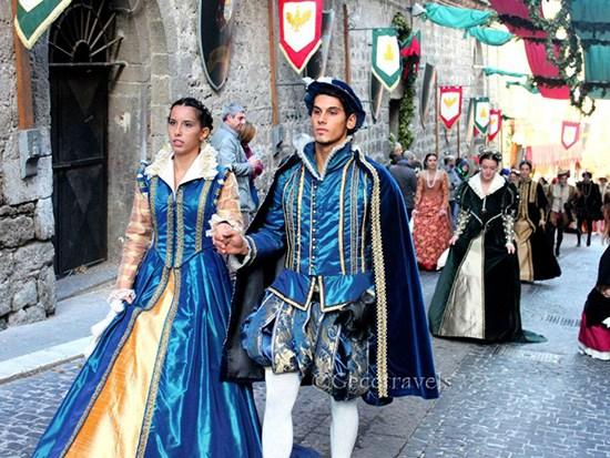 Corteo storico della contrada Papacqua