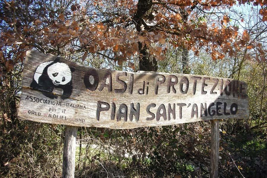 Oasi WWF di Pian Sant'Angelo