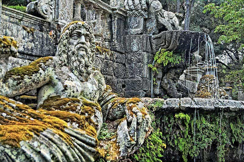 Fontana dei giganti Villa Lante