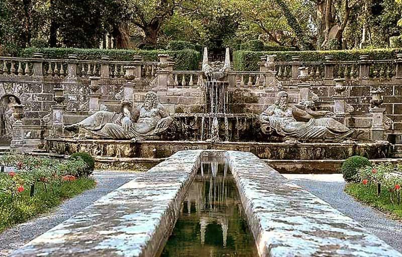 Fontane Villa Lante Bagnaia