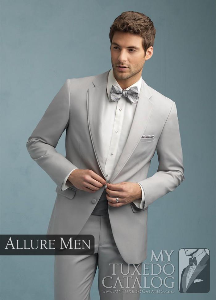 Grey Tux For Wedding
