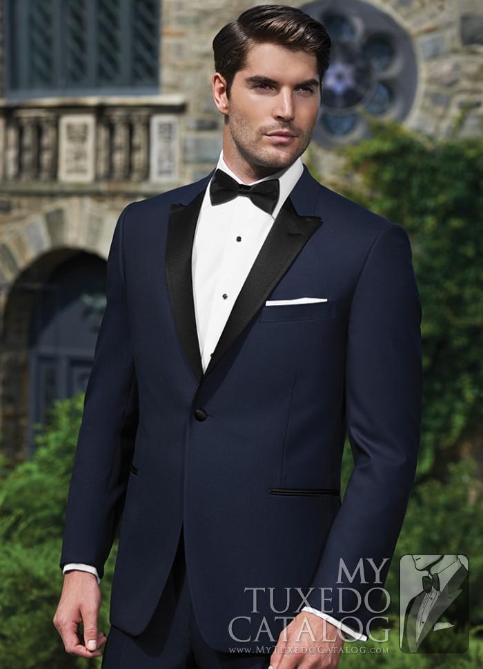Navy Blake Tuxedo  Tuxedos  Suits  MyTuxedoCatalogcom