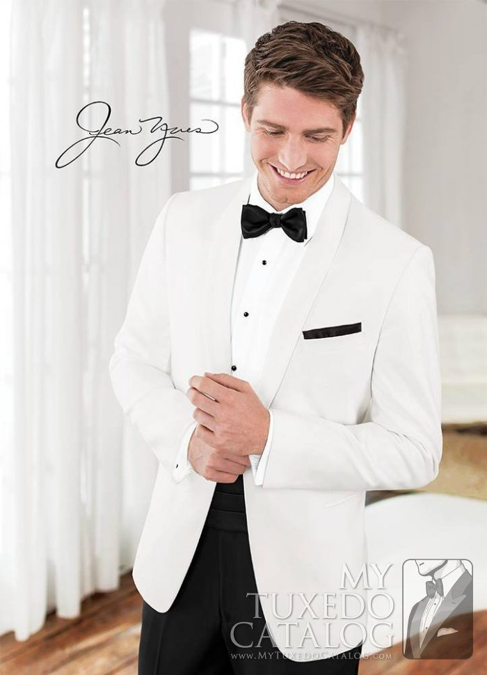 White Modern Essential Dinner Jacket  Tuxedos  Suits