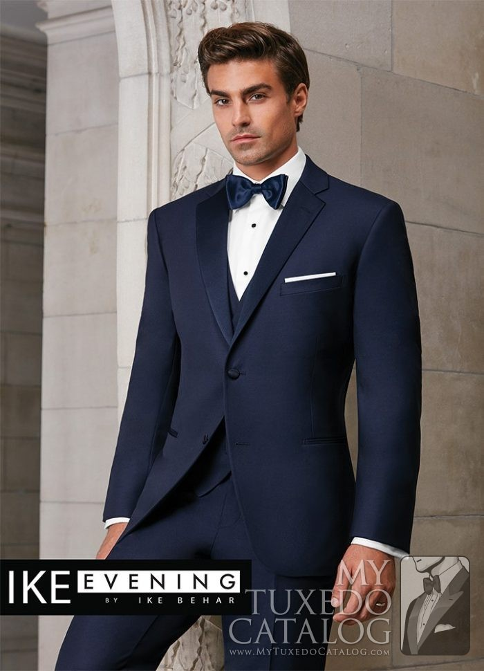 Navy Sebastian Tuxedo  Tuxedos  Suits