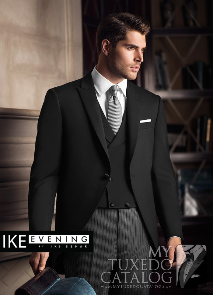 Black Wyatt Cutaway  Tuxedos  Suits  MyTuxedoCatalogcom