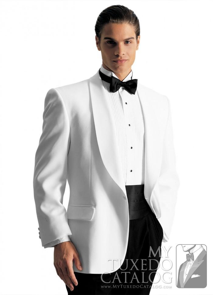 White Gerard Tuxedo  Tuxedos  Suits  MyTuxedoCatalogcom