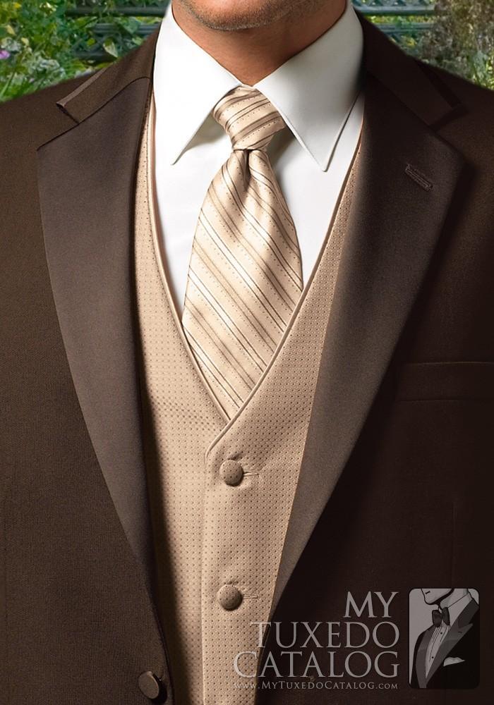 Chocolate Premier Tuxedo  Tuxedos  Suits