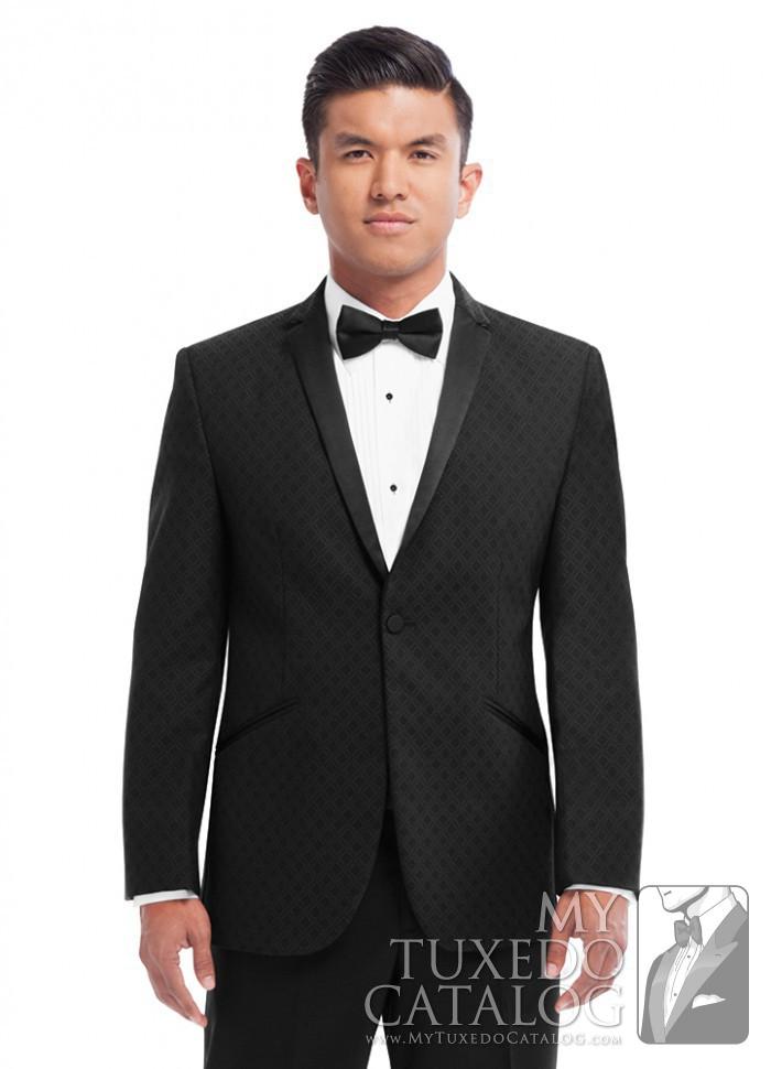Black Diamond Illusion Tuxedo  Tuxedos  Suits