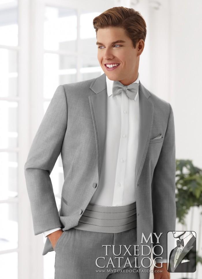 Heather Grey Twilight Tuxedo  Tuxedos  Suits  MyTuxedoCatalogcom