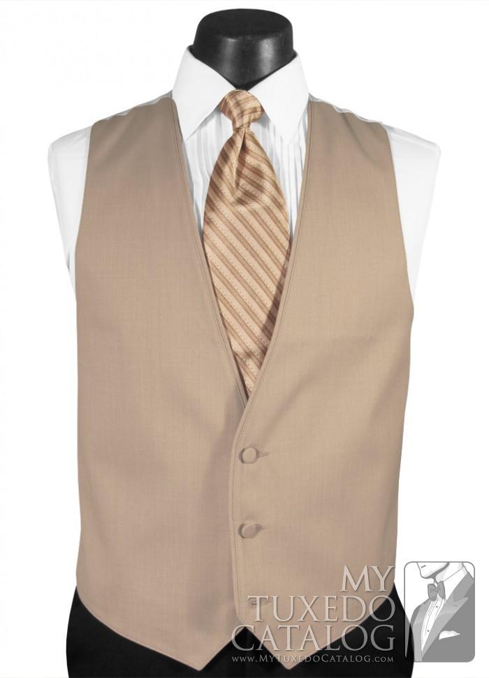 Tan Suit Vest  Vests  MyTuxedoCatalogcom