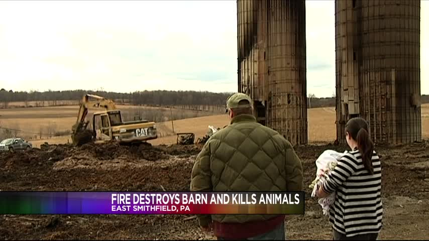 Fire Destroys Barn And Kills More Than 100 Animals_17939591-159532