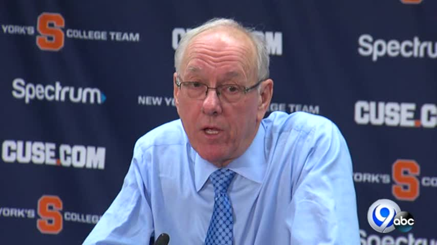 2/4 - Jim Boeheim 1,000 career win vs Virginia Post Game