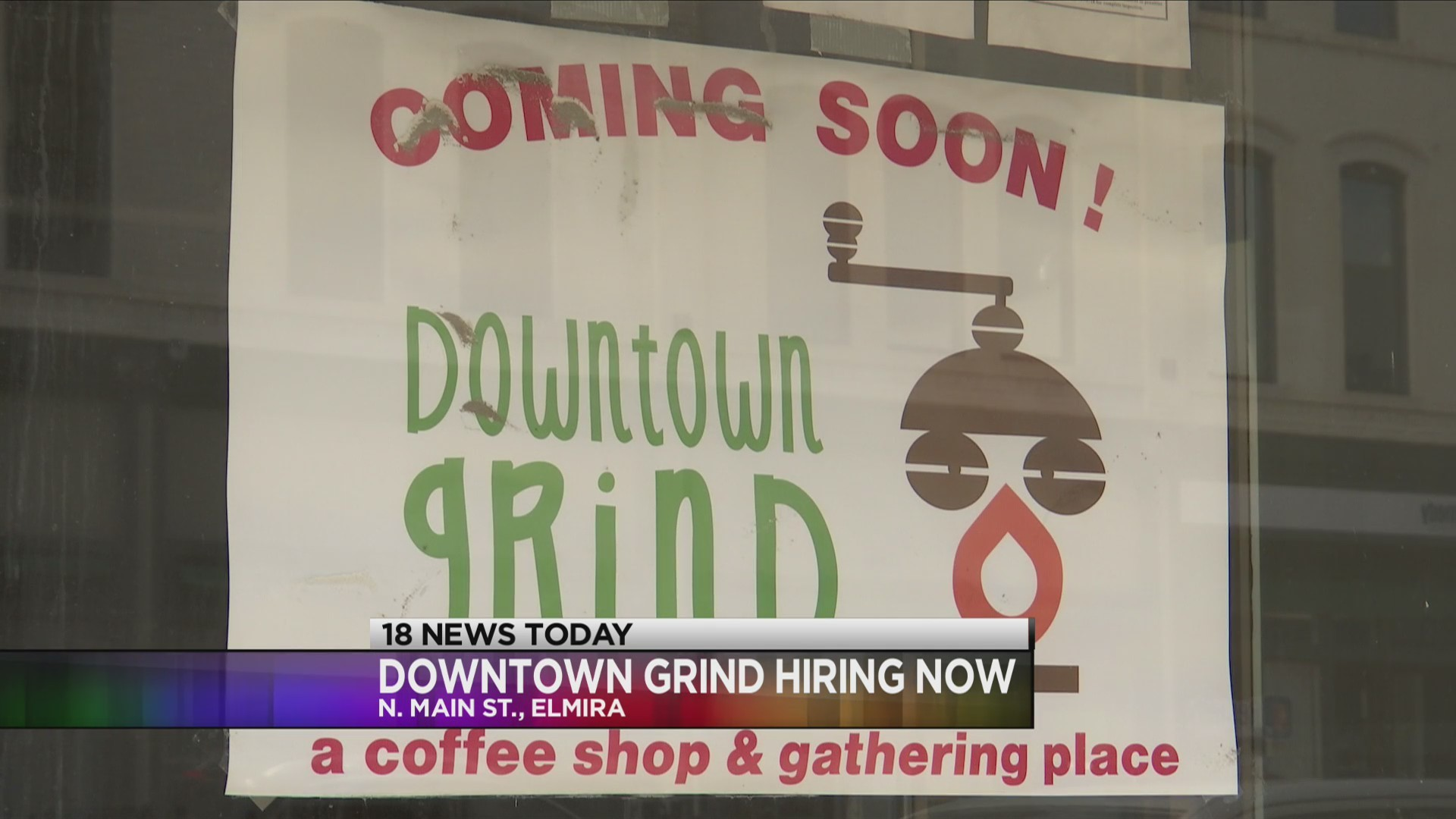 Newest coffee shop in town 'Downtown Grind' is hiring