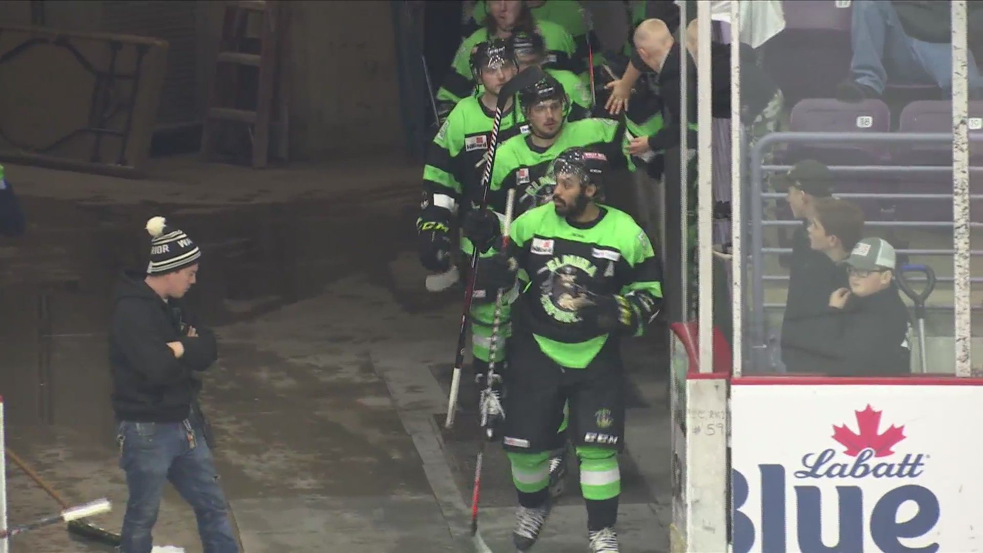 Enforcers sweep Prowlers for 5th straight win