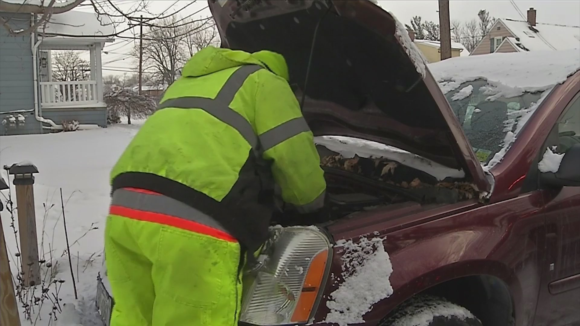 Extreme cold triples call volume for AAA
