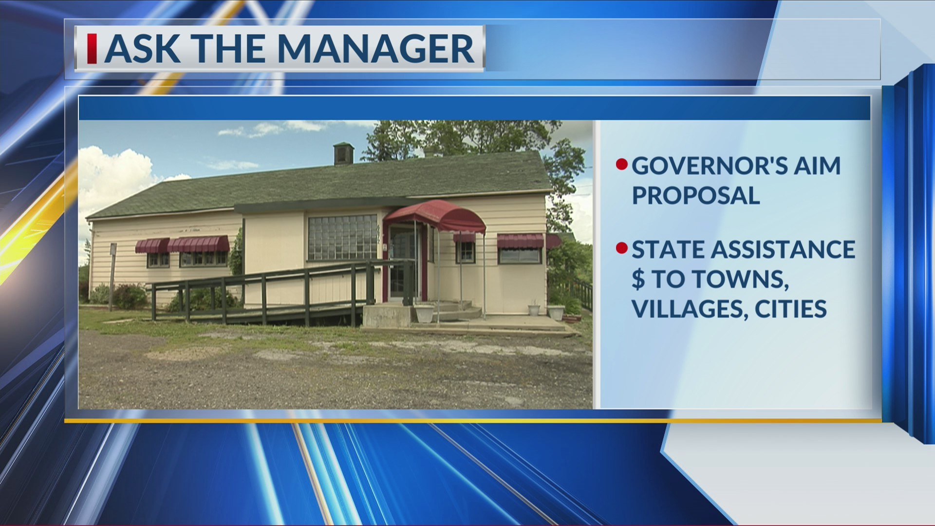 Ask the Manager: Governor's AIM Proposal