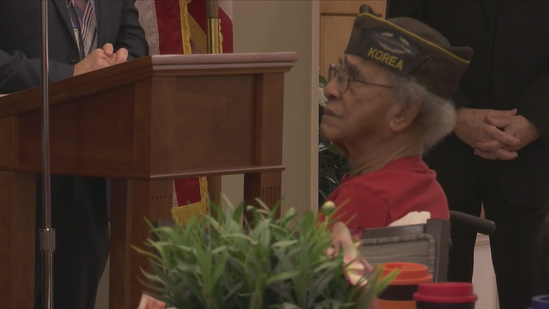 Tom Reed visits veterans