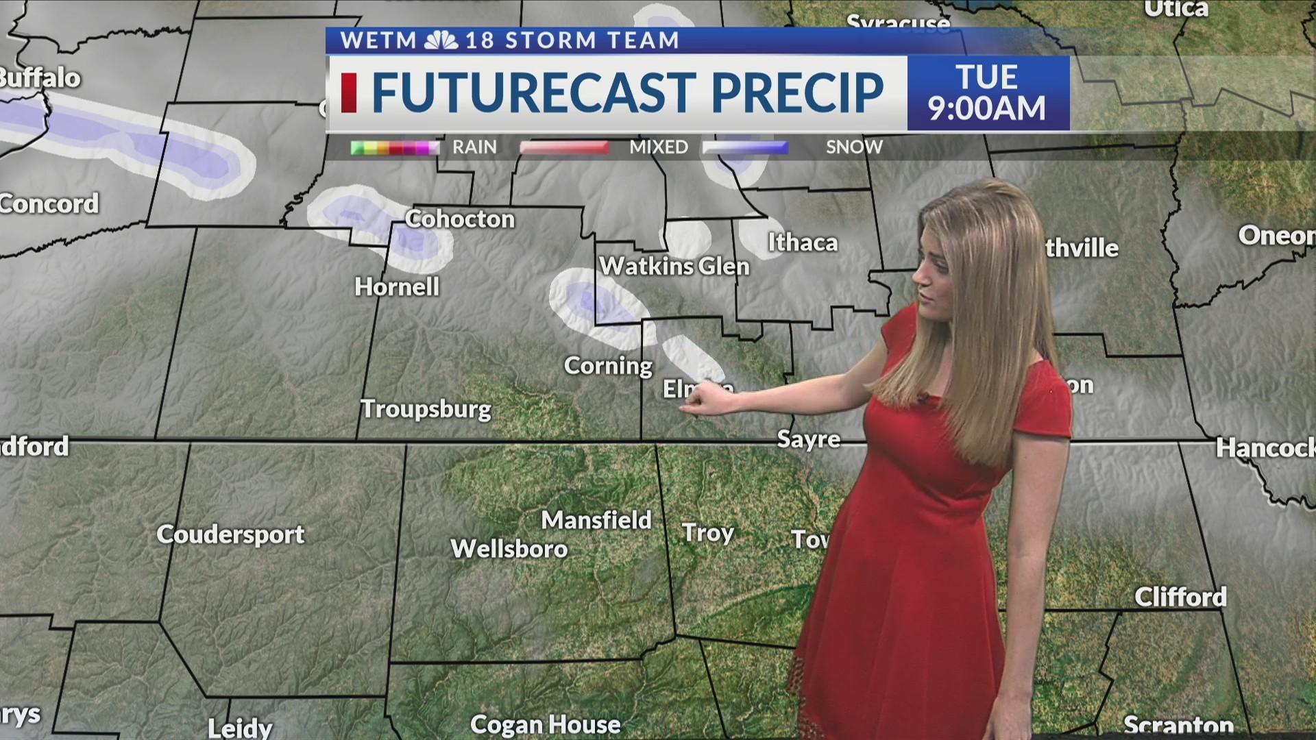 Tuesday morning forecast 2/26/2019