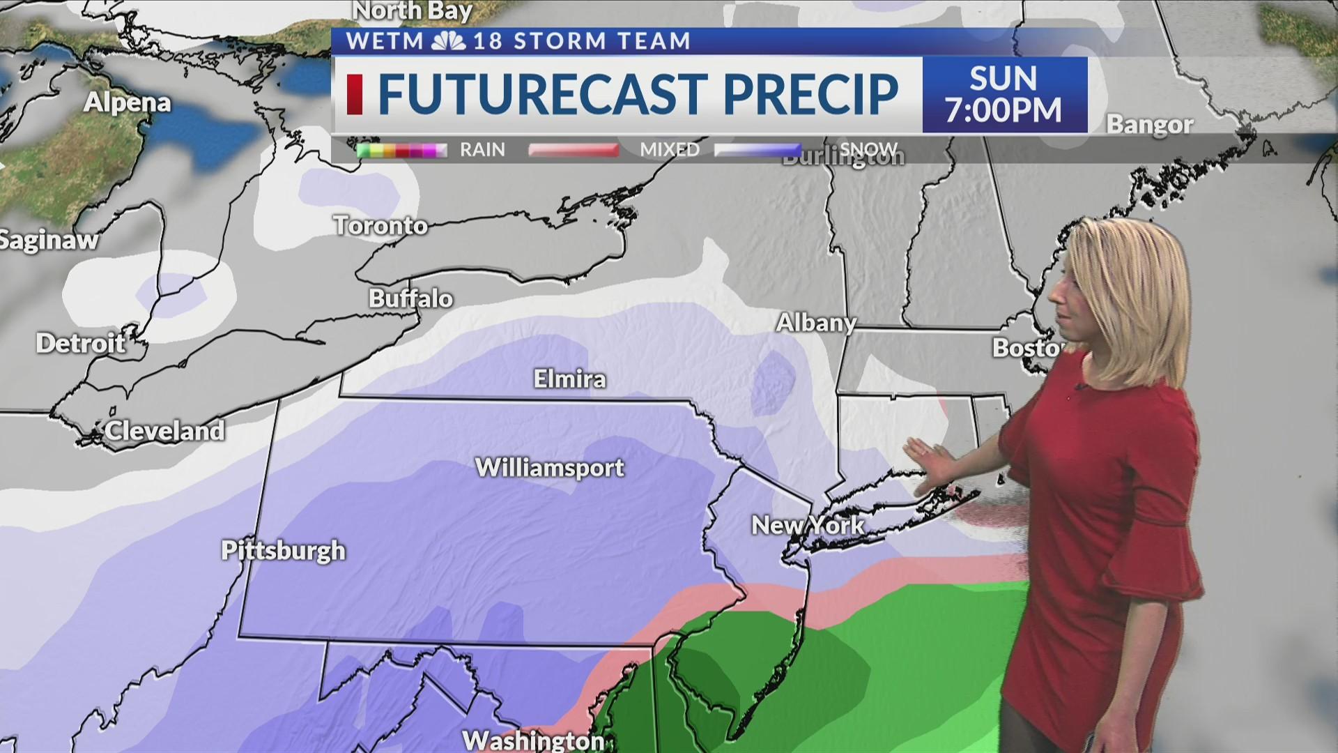 Friday Evening 7-Day Forecast (3/1/19)