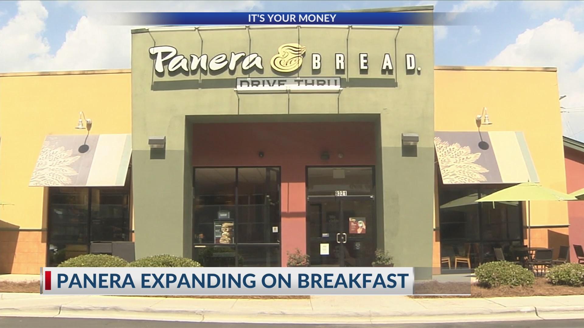 Panera breakfast