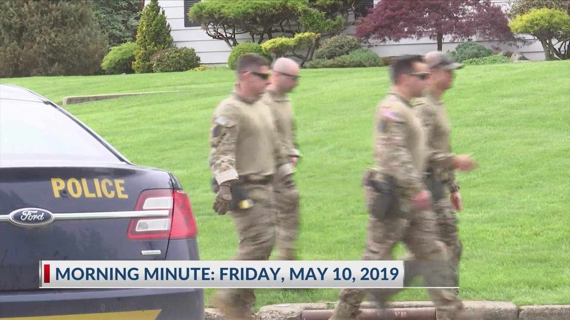 Morning Minute: Friday, May 10, 2019