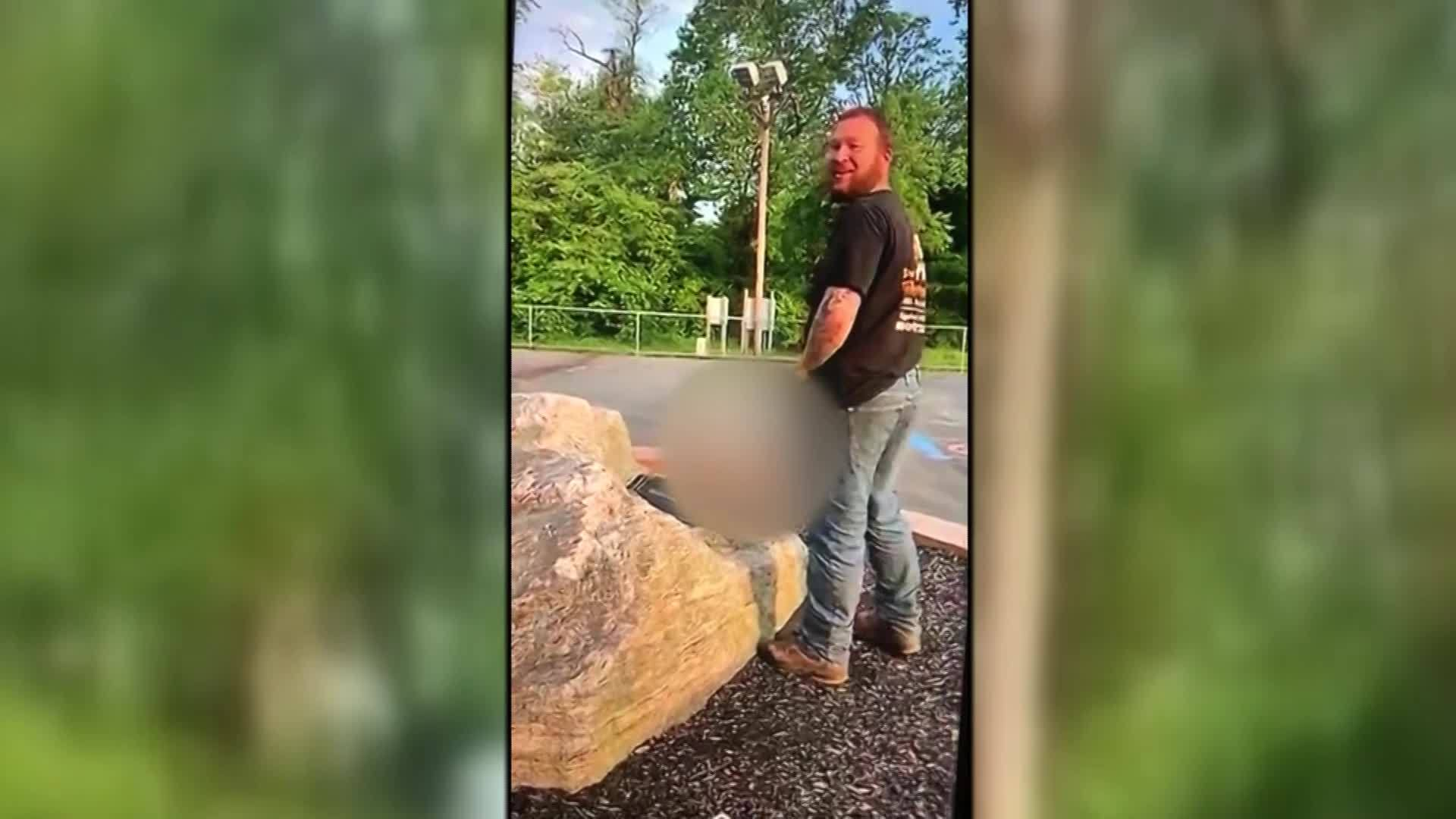 NJ: MEN CHARGED WITH URINATING ON CHILD'S MEMORIAL