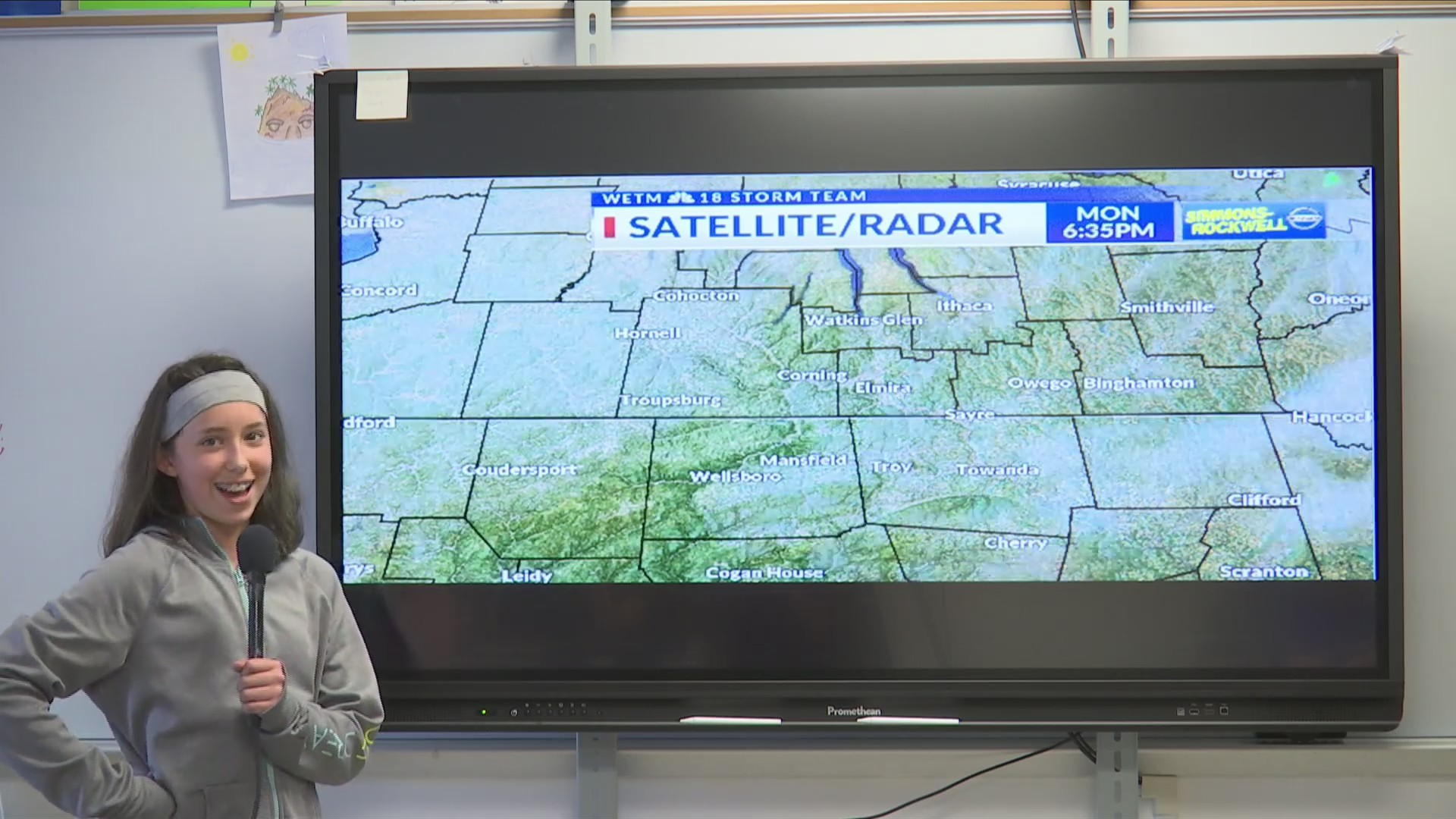 Weather Wisdom: Hornell 7th & 8th Grade Career Day