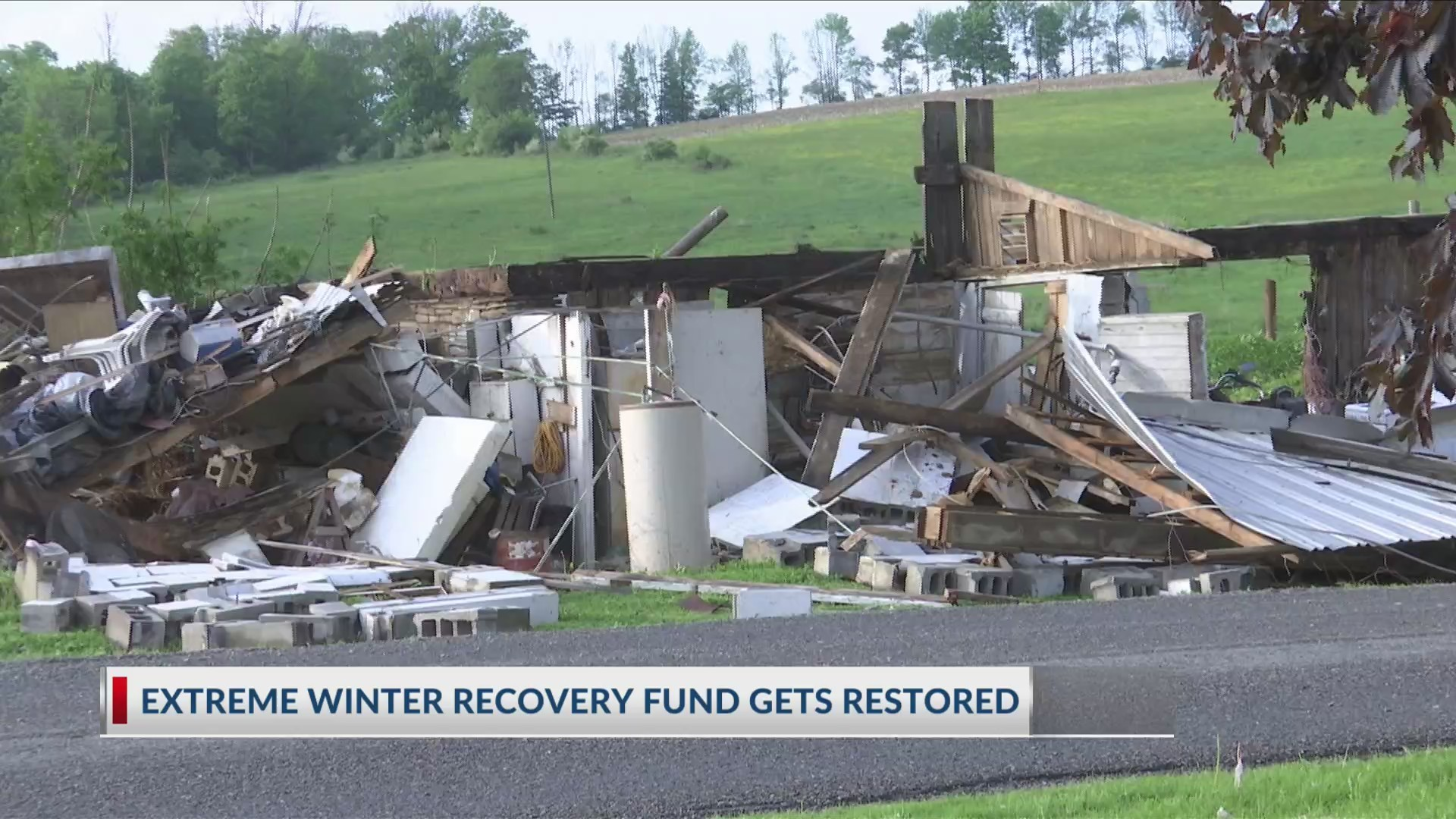 Extreme Winter Recovery Fund Gets Restored