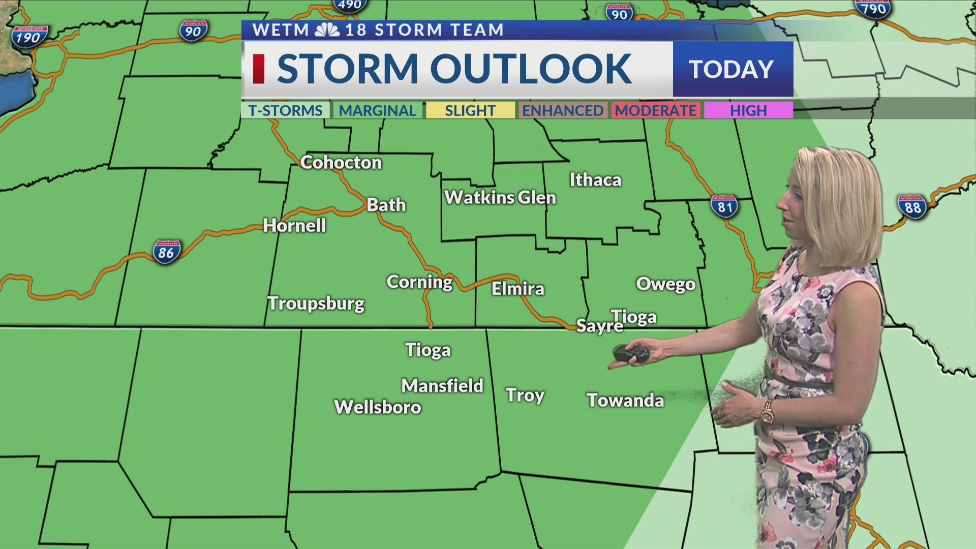Saturday Morning's 7-Day Forecast (6/1/19)