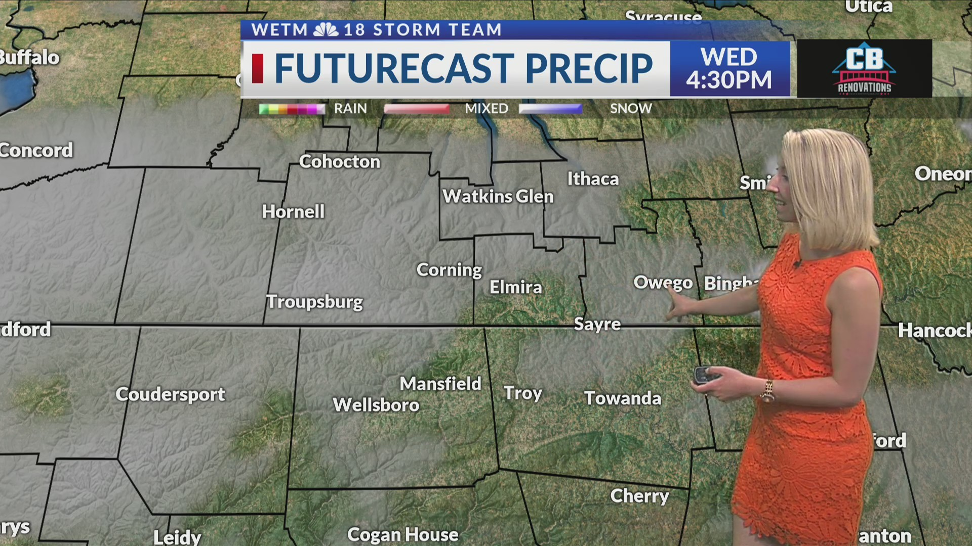 Tuesday Evening 7-Day Forecast (6/11/19)