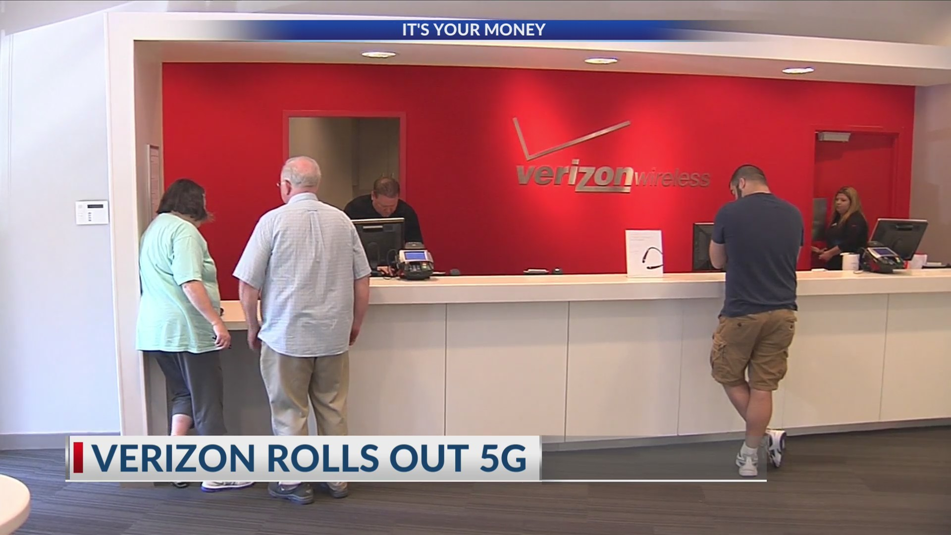 Verizon rolls out 5G