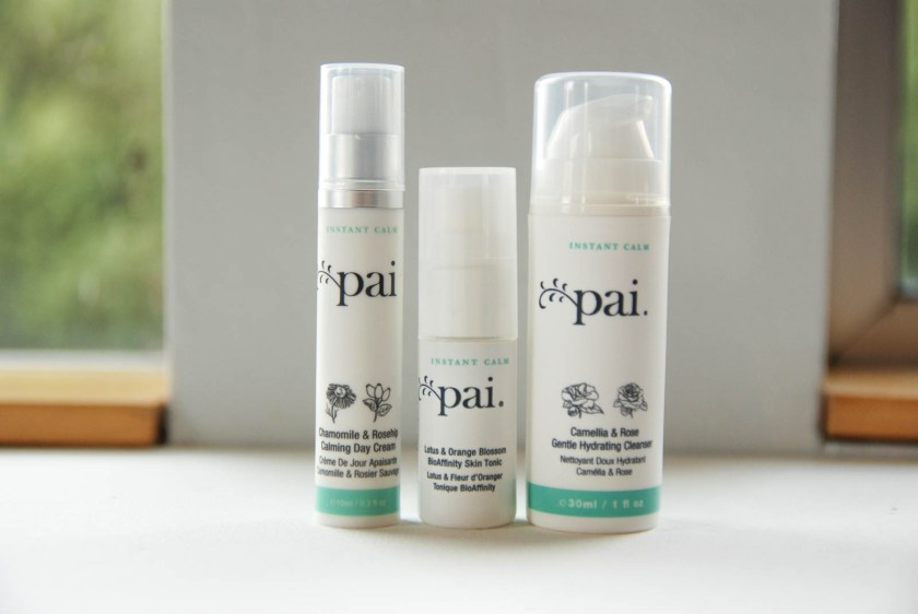 Pai Skincare Camellia and Rose Cleaner Lotus and Orange Blossom Tonic Chamomile and Rosehip Day Cream