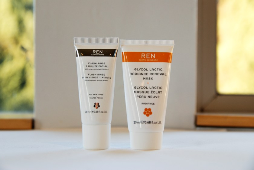 Ren Glow and Go! Flash Rinse 1 Minute Facial Glycol Lactic Radiance Renewal Mask 2