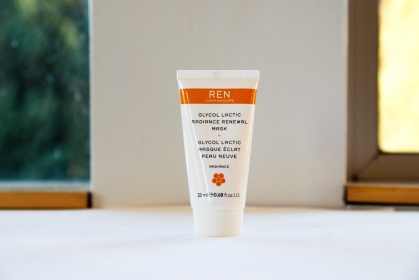 Ren Glow and Go! Glycol Lactic Radiance Renewal Mask