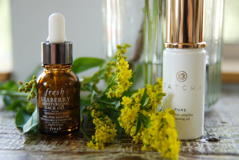 Fresh Seaberry Oil Tatcha Pure Cleansing Oil