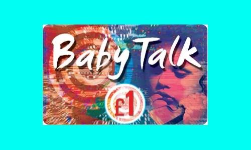 Baby Talk Calling Card