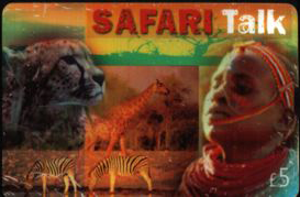 Safari Talk Calling Card