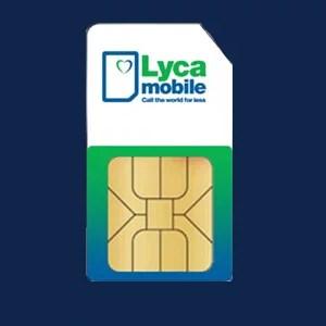 Lyca Mobile Sim Card