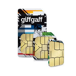 Giffgaff Sim Card Pay As You Go Product