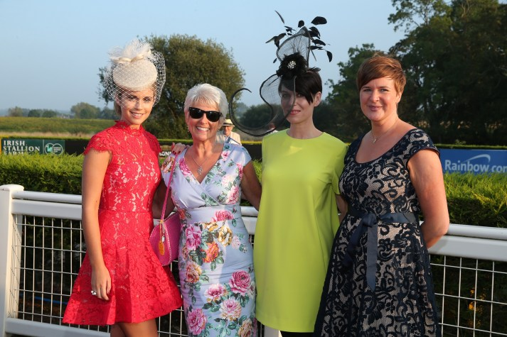 Press Eye - Belfast - Northern Ireland  -  Charles Hurst Premium Summer Race Evening at Down Royal Race Course Jayne Higgins, Pamela Ballentine, Nuala Meenehan and Kath Bell
