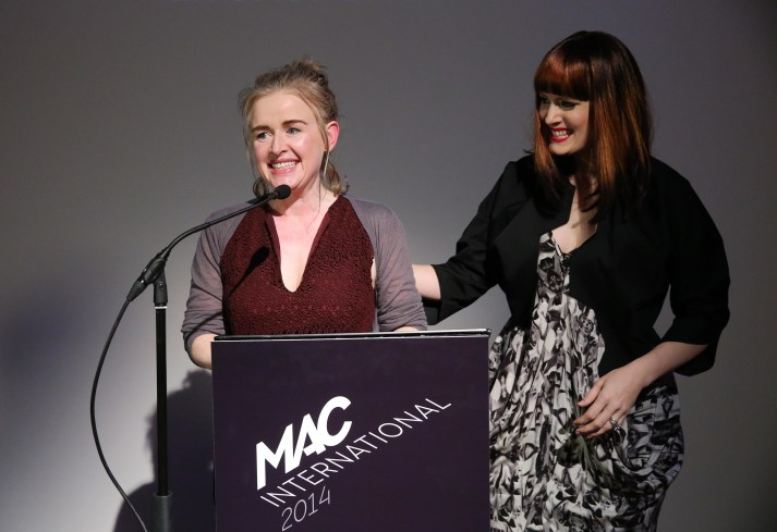 London based artist MaireŽad McClean has been announced as the inaugural winner of the Ulster Bank MAC International £20,000 open arts prize which took place tonight at the MAC in Belfast.