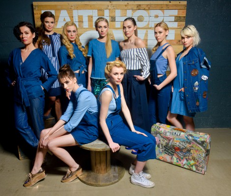 Pictured at the launch of West Coast Cooler FASHIONWEEK are models Nuala, Joanne, Aimee, Carys, Rebecca, Sacha, Claire, Lauryn and Phoebe in the latest looks from Dorothy Perkins @ CastleCourt, Diamond Dolls, Next, M&S, Miss Selfridge at CastleCourt and Nor Lisa.